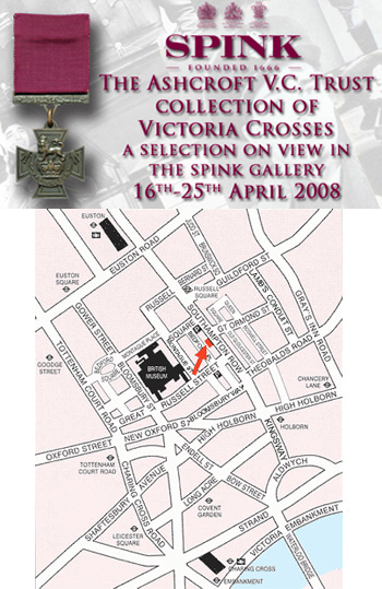 Lord Ashcroft to Exhibit 50 Victoria Crosses at Spink