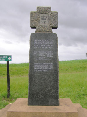 Gingindlovu Memorial
